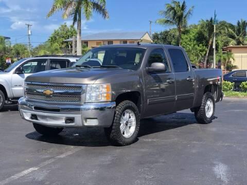 2012 Chevrolet Silverado 1500 for sale at Palm Beach Motors in Lake Worth FL