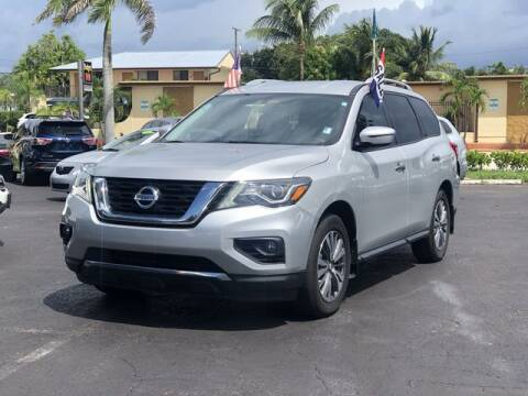2017 Nissan Pathfinder for sale at Palm Beach Motors in Lake Worth FL
