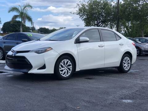 2018 Toyota Corolla for sale at Palm Beach Motors in Lake Worth FL