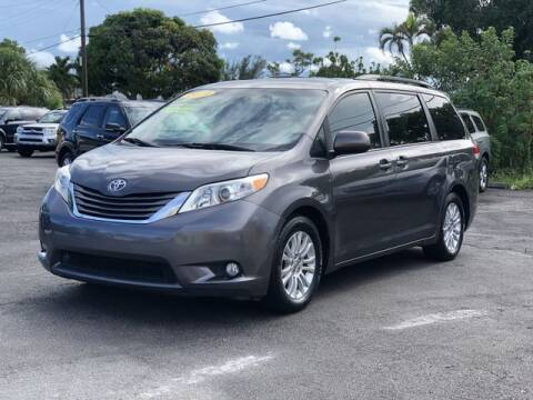 2013 Toyota Sienna for sale at Palm Beach Motors in Lake Worth FL