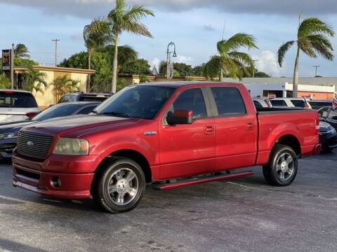 2008 Ford F-150 for sale at Palm Beach Motors in Lake Worth FL