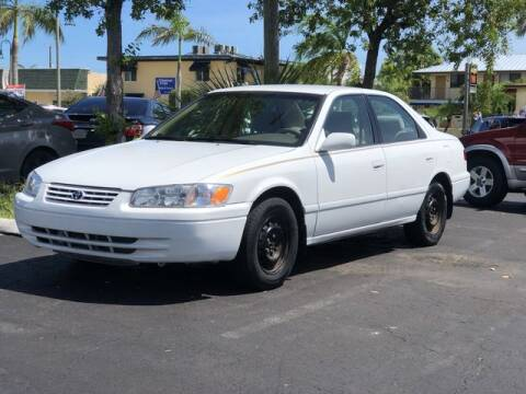 2000 Toyota Camry for sale at Palm Beach Motors in Lake Worth FL