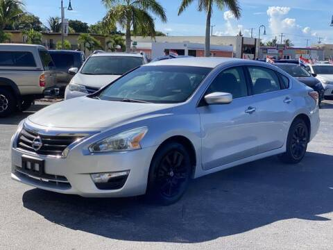 2013 Nissan Altima for sale at Palm Beach Motors in Lake Worth FL