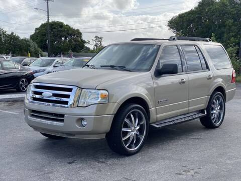 2008 Ford Expedition for sale at Palm Beach Motors in Lake Worth FL