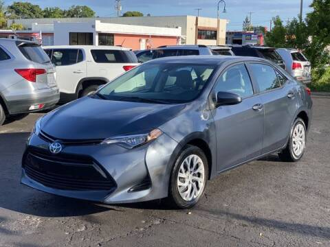 2017 Toyota Corolla for sale at Palm Beach Motors in Lake Worth FL