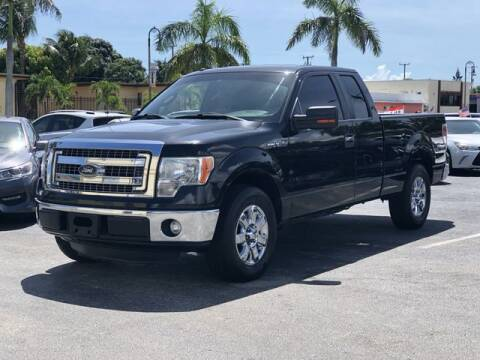 2013 Ford F-150 for sale at Palm Beach Motors in Lake Worth FL