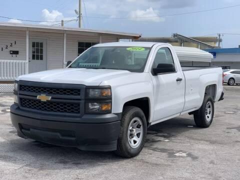 2014 Chevrolet Silverado 1500 for sale at Palm Beach Motors in Lake Worth FL
