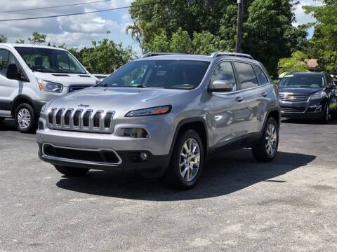 2014 Jeep Cherokee for sale at Palm Beach Motors in Lake Worth FL