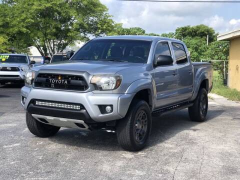 2014 Toyota Tacoma for sale at Palm Beach Motors in Lake Worth FL