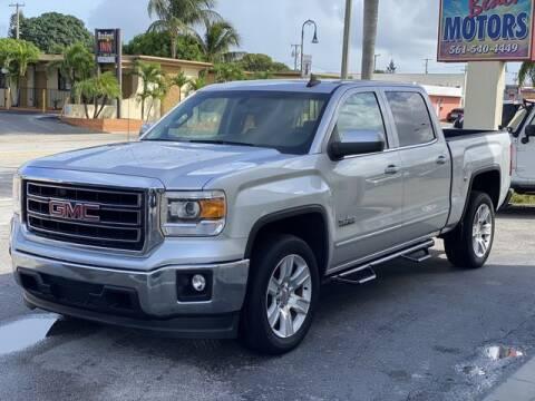 2015 GMC Sierra 1500 for sale at Palm Beach Motors in Lake Worth FL
