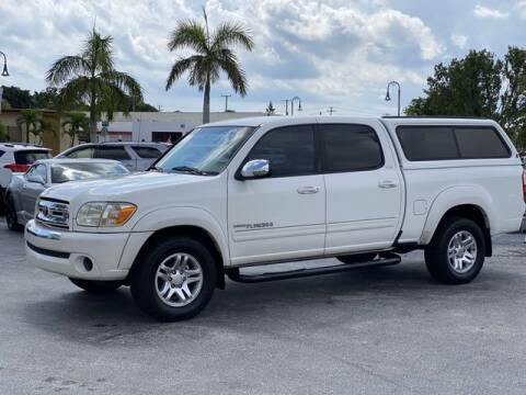 2005 Toyota Tundra for sale at Palm Beach Motors in Lake Worth FL