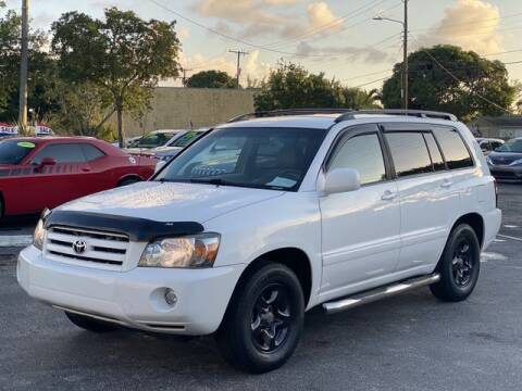 2006 Toyota Highlander for sale at Palm Beach Motors in Lake Worth FL