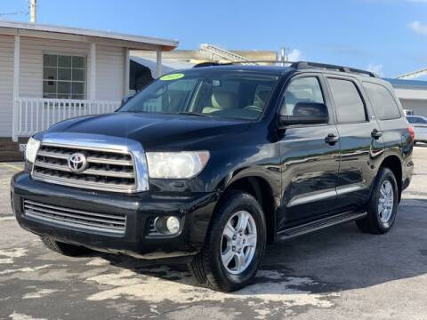 2013 Toyota Sequoia for sale at Palm Beach Motors in Lake Worth FL