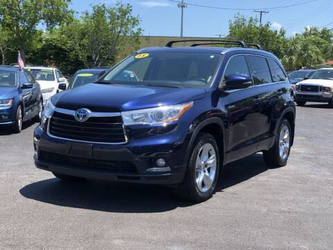 2015 Toyota Highlander Hybrid for sale at Palm Beach Motors in Lake Worth FL