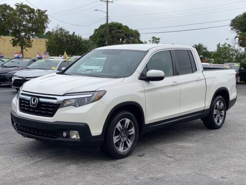 2017 Honda Ridgeline for sale at Palm Beach Motors in Lake Worth FL