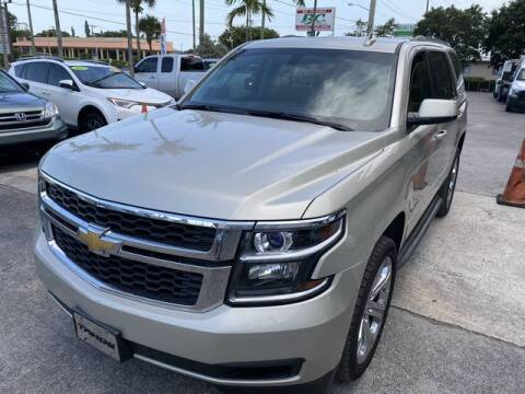 2015 Chevrolet Tahoe for sale at Palm Beach Motors in Lake Worth FL