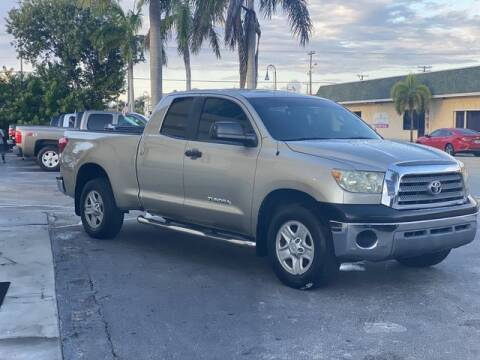 2008 Toyota Tundra for sale at Palm Beach Motors in Lake Worth FL