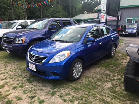 2012 Nissan Versa for sale in Tamworth, NH