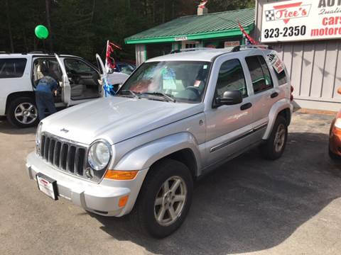 2006 Jeep Liberty for sale in Tamworth, NH