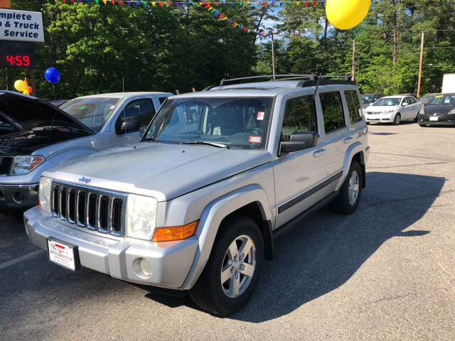 2007 Jeep Commander For Sale At Ticeu0027s Automotive In Tamworth NH