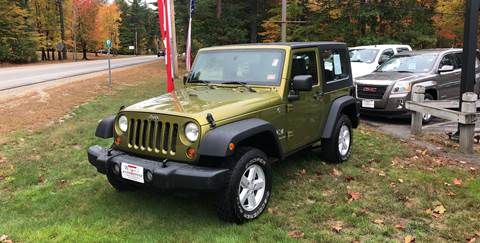 2007 Jeep Wrangler for sale in Tamworth, NH