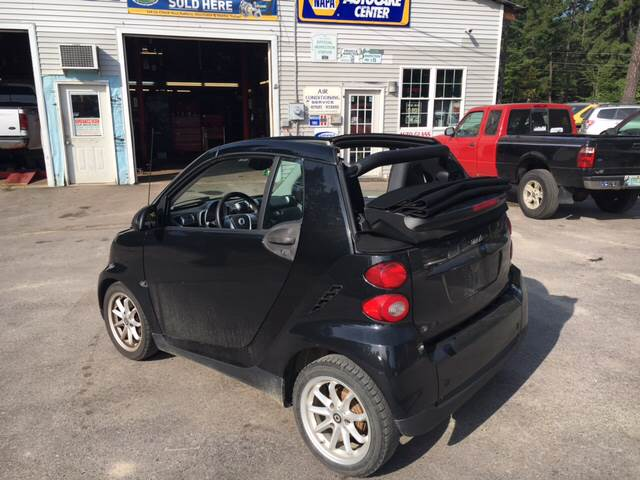 2009 Smart fortwo passion cabriolet 2dr Cabriolet - Tamworth NH