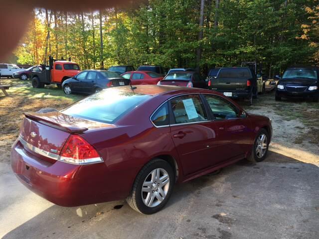 2011 Chevrolet Impala LT 4dr Sedan - Tamworth NH