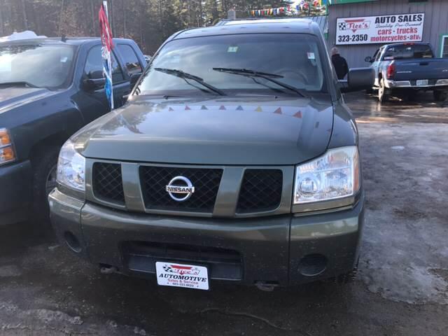 2004 Nissan Titan 4dr King Cab SE 4WD SB - Tamworth NH