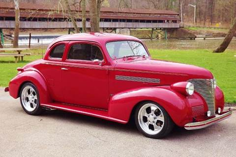 1939 Chevrolet 5 window coupe for sale at Pro Muscle Car Inc in Geneva OH