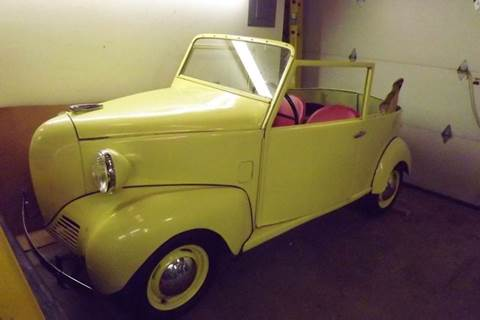 1939 CROSLEY CONVERTIBLE for sale at Pro Muscle Car Inc in Geneva OH
