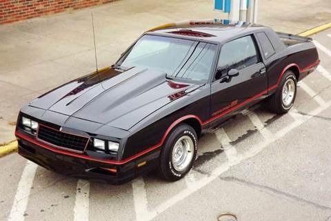 1985 Chevrolet Monte Carlo for sale at Pro Muscle Car Inc in Geneva OH
