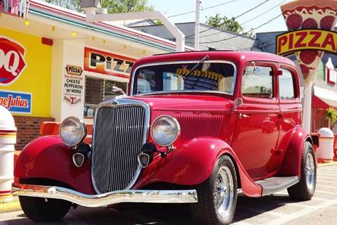 1934 Ford Tudor for sale at Pro Muscle Car Inc in Geneva OH
