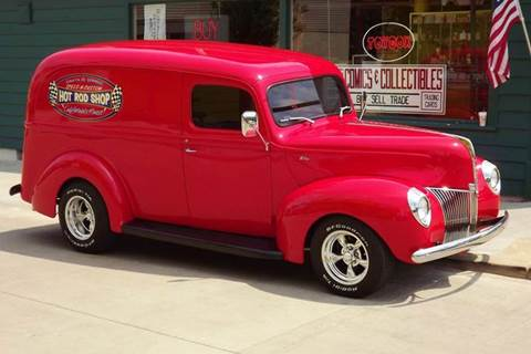 1940 Ford Panel Truck for sale at Pro Muscle Car Inc in Geneva OH