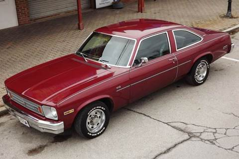 1975 Chevrolet Nova for sale at Pro Muscle Car Inc in Geneva OH