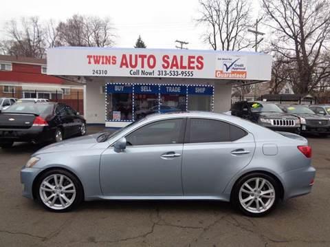 2007 Lexus IS 250 for sale at Twins Auto Sales Inc - Detroit Lot in Detroit MI