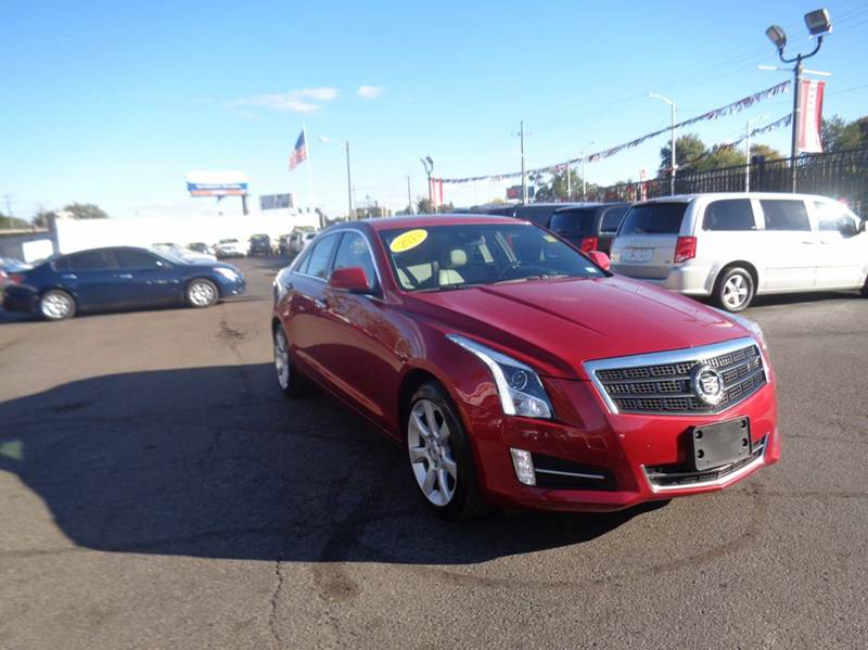 2013 Cadillac ATS for sale at Twins Auto Sales Inc - Detroit Lot in Detroit MI