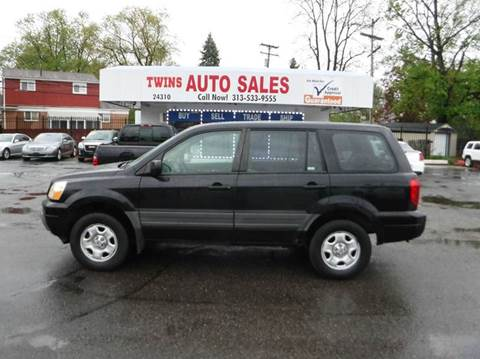 2005 Honda Pilot for sale at Twins Auto Sales Inc - Detroit Lot in Detroit MI