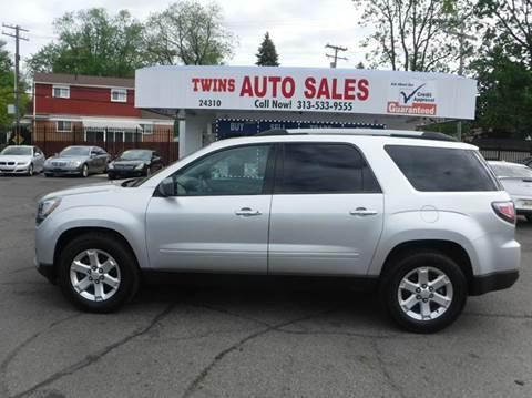 2014 GMC Acadia for sale at Twins Auto Sales Inc - Detroit Lot in Detroit MI