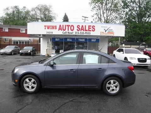 2014 Chevrolet Cruze for sale at Twins Auto Sales Inc - Detroit Lot in Detroit MI