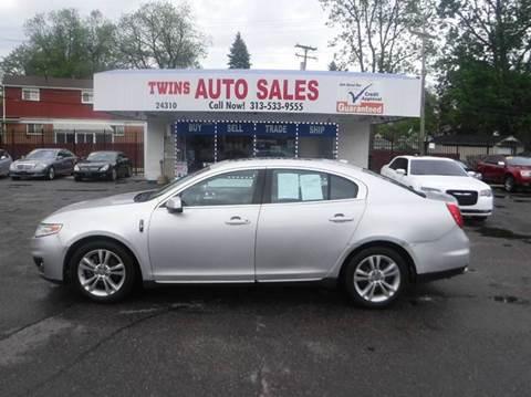 2011 Lincoln MKS for sale in Detroit, MI