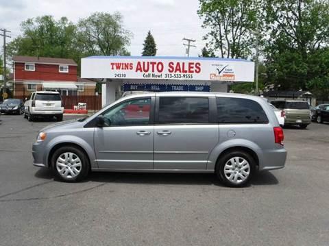 2015 Dodge Grand Caravan for sale at Twins Auto Sales Inc - Detroit Lot in Detroit MI