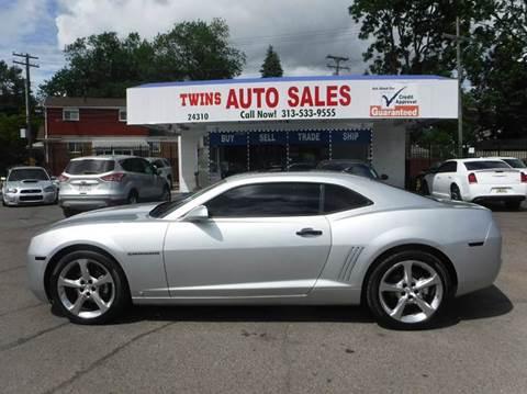 2010 Chevrolet Camaro for sale at Twins Auto Sales Inc - Detroit Lot in Detroit MI
