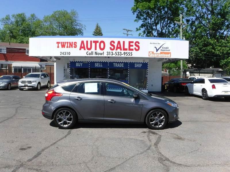 2014 Ford Focus for sale at Twins Auto Sales Inc - Detroit Lot in Detroit MI