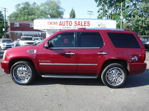 2007 Cadillac Escalade for sale at Twins Auto Sales Inc - Detroit Lot in Detroit MI