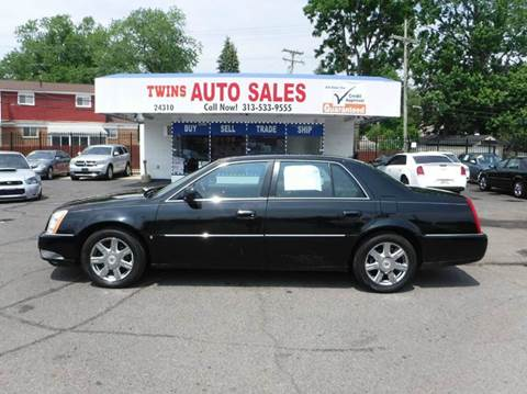 2007 Cadillac DTS for sale at Twins Auto Sales Inc - Detroit Lot in Detroit MI