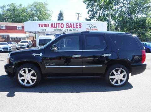 2010 Cadillac Escalade for sale at Twins Auto Sales Inc - Detroit Lot in Detroit MI