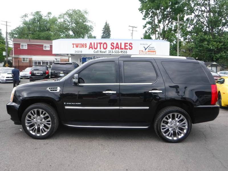 2007 Cadillac Escalade In Detroit Mi Twins Auto Sales Inc