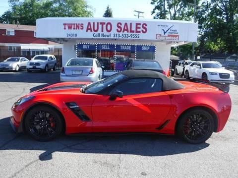 2016 Chevrolet Corvette for sale at Twins Auto Sales Inc - Detroit Lot in Detroit MI