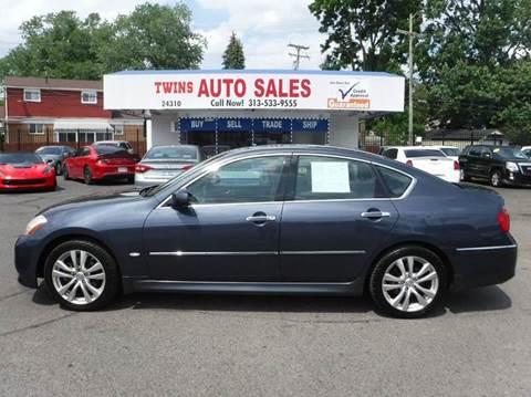 2008 Infiniti M35 for sale at Twins Auto Sales Inc - Detroit Lot in Detroit MI
