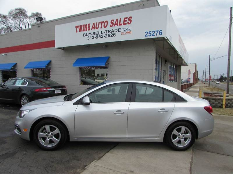 2015 Chevrolet Cruze for sale at Twins Auto Sales Inc - Redford Lot in Redford MI